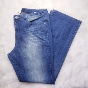 Nine West Jeans Medium Wash Bootcut Jeans